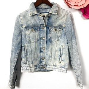 Forever 21 light wash Jean jacket size S
